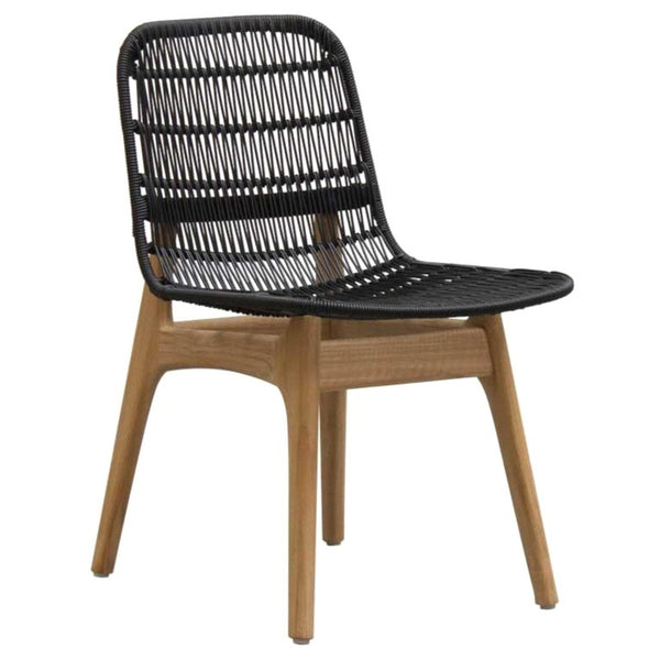 SITA DINING CHAIR / BLACK (INDOOR - OUTDOOR)