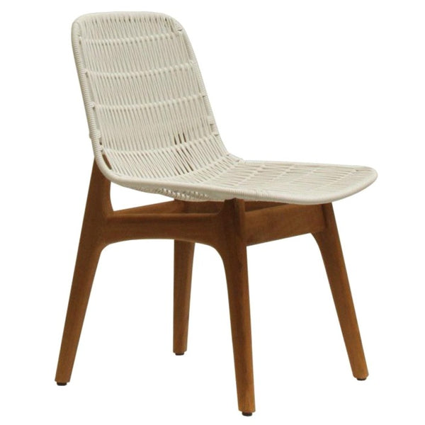 SITA DINING CHAIR / WHITE (INDOOR - OUTDOOR)