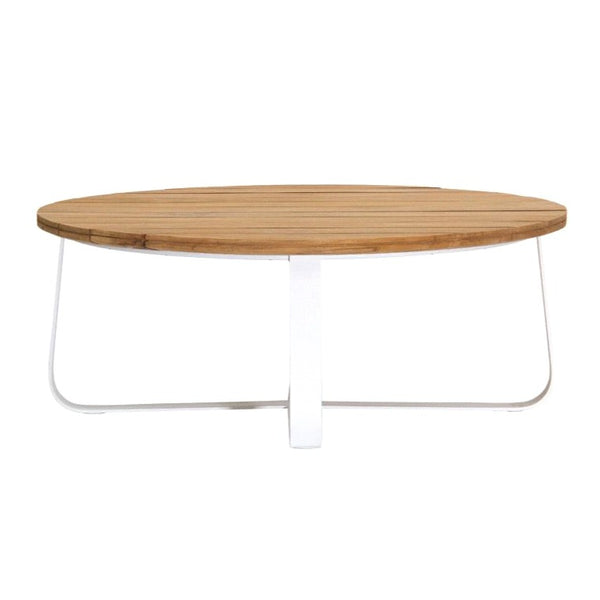 DENA COFFEE TABLE / WHITE-NATURAL (INDOOR-OUTDOOR)