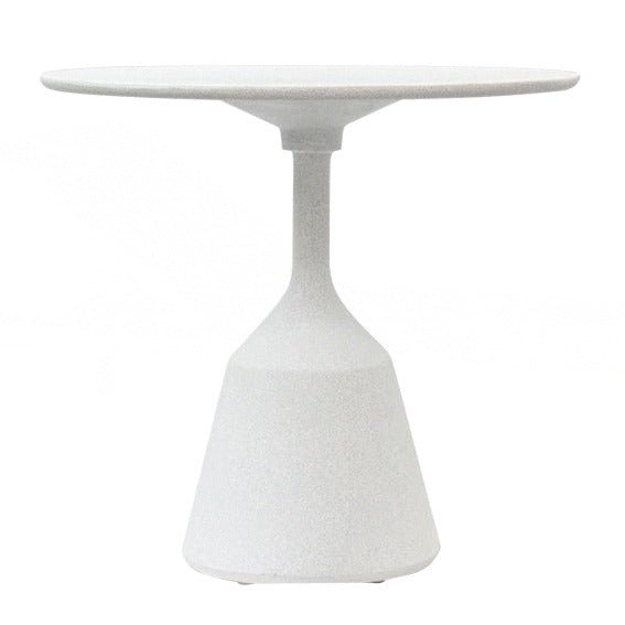 BYRON CAFÉ TABLE / WHITE POWDERSTONE