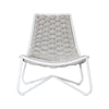 TORIN EASY CHAIR / WHITE-DOVE (INDOOR-OUTDOOR)