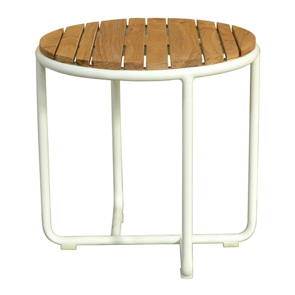 IBIZA ROUND SIDE TABLE / TEAK