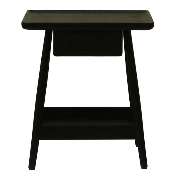 TRAY (BED)SIDE TABLE / BLACK OAK