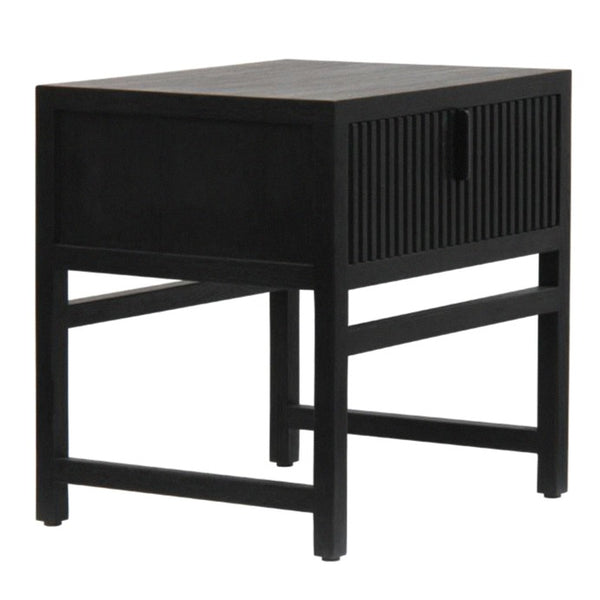 ADDISON (BED)SIDE TABLE / CHARCOAL OAK