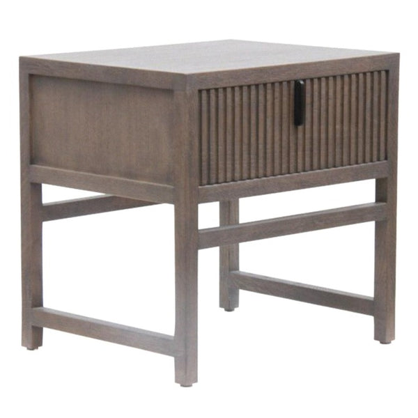 ADDISON (BED)SIDE TABLE / SLATE OAK