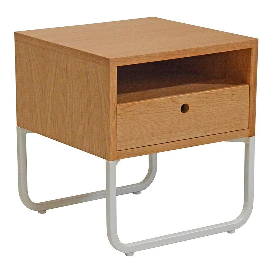 JAYDEN (BED)SIDE TABLE / WHITE FRAME