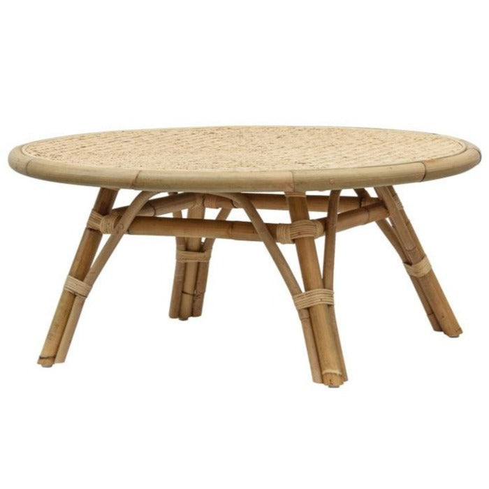 CHLOE COFFEE TABLE / NATURAL RATTAN