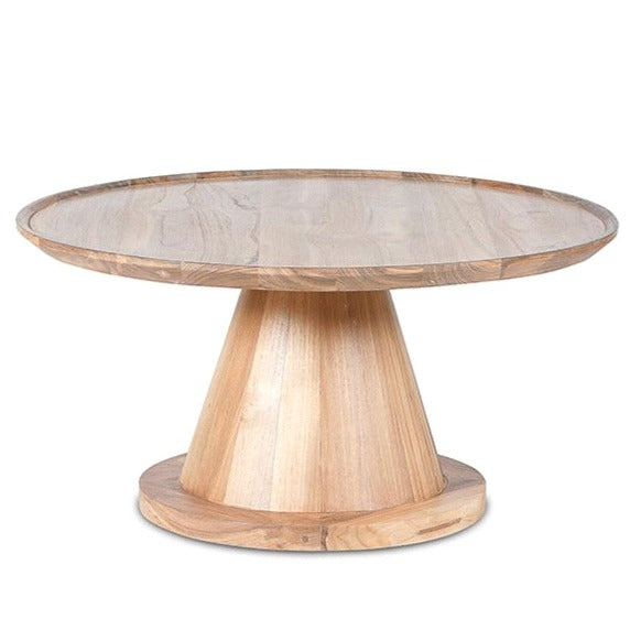 NOAH CONE COFFEE TABLE / RECLAIMED TEAK