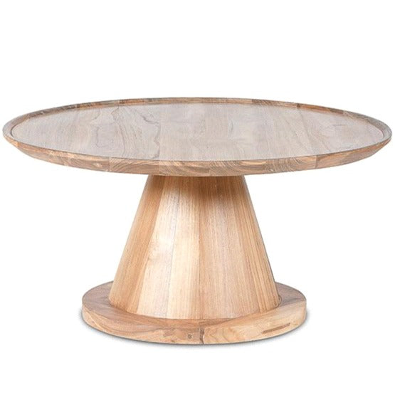 NOAH CONE COFFEE TABLE / RECYCLED TEAK