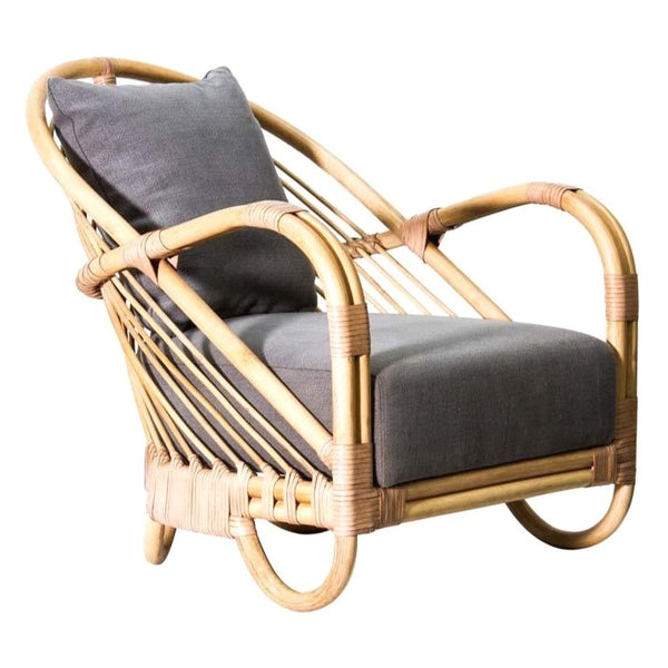 DANIA LOUNGE CHAIR / NATURAL (INDOOR)