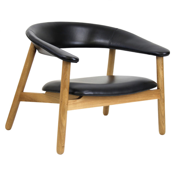BOOMERANG LOUNGE CHAIR / BLACK