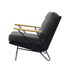 SULIS LOUNGE CHAIR / CHARCOAL
