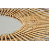 CASA ROUND WALL MIRROR / NATURAL