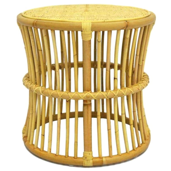 ANNA SIDE TABLE / NATURAL RATTAN