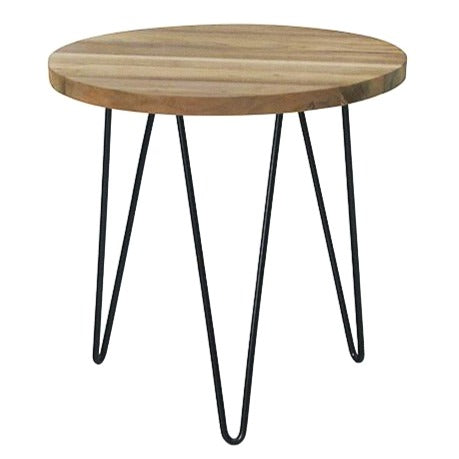 LOGAN SIDE TABLE / RECYCLED TEAK