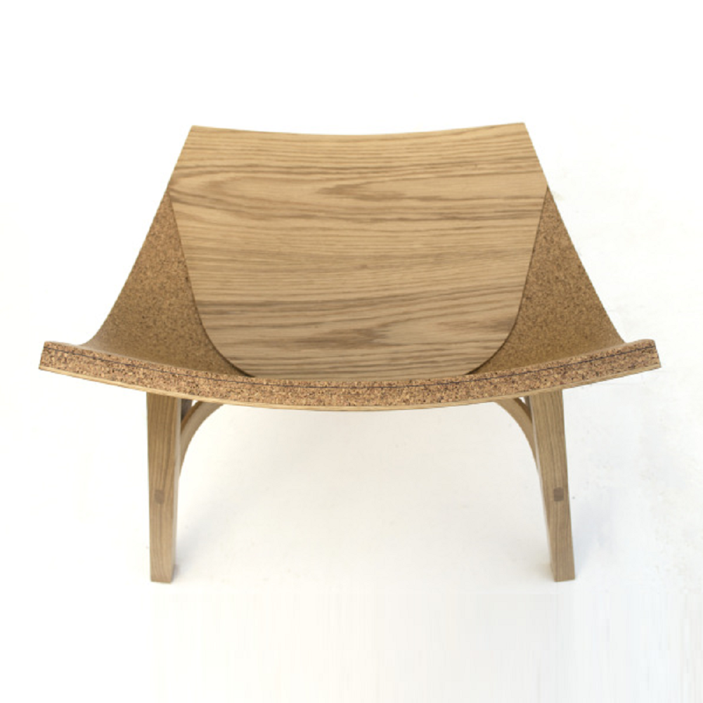 Woork (Wood + Cork) Chair