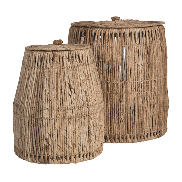 Cancun Laundry Baskets | Banana Fiber