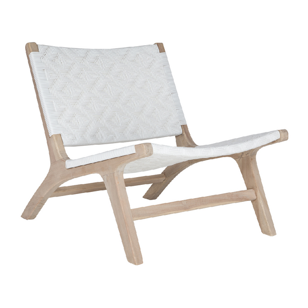 Cape Town Lounge Chair | White / INDOOR-OUTDOOR