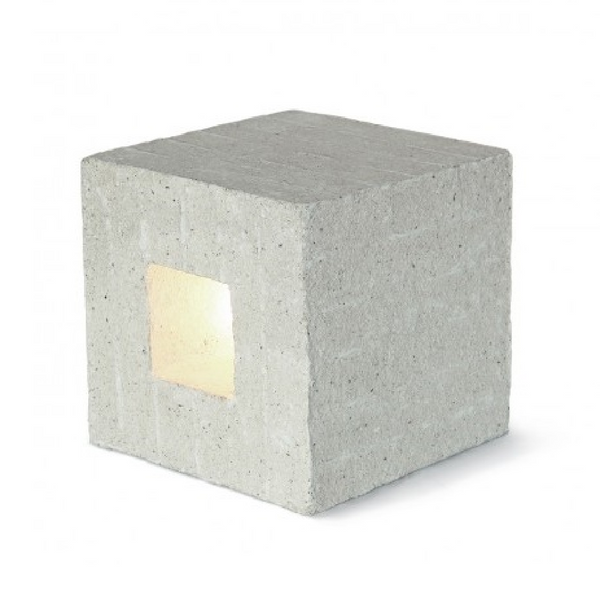 Tumba Illuminated Stool - Side Table / REPAPER
