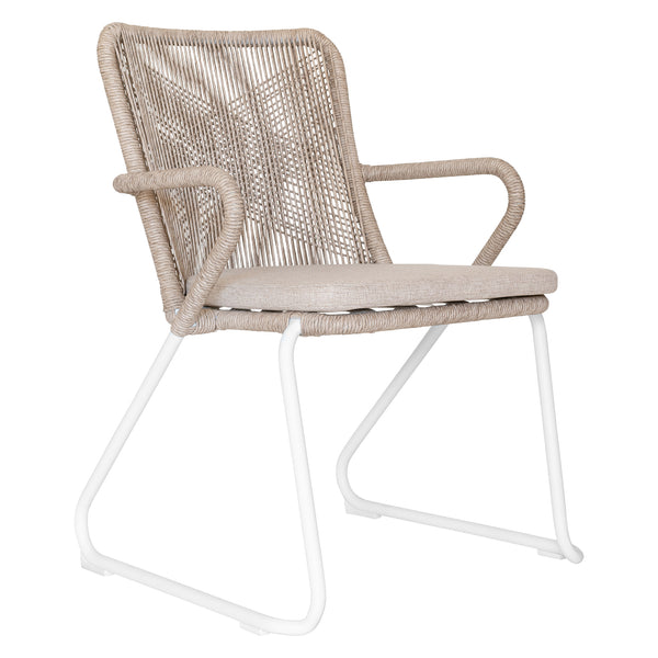 INDAABA DINING CHAIR / NATURAL (INDOOR-OUTDOOR) / STACKABLE - MIN QTY OF 5