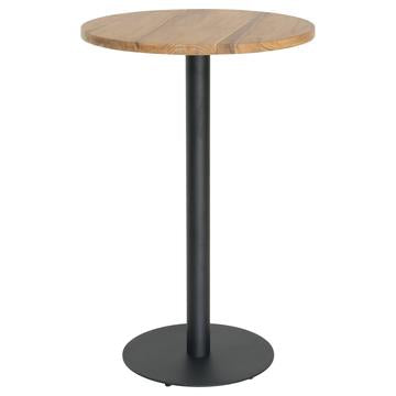 JONSON BAR TABLE / RECLAIMED TEAK WOOD / BLACK