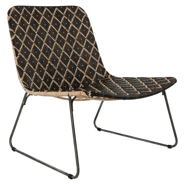 KALUNDI OCCASIONAL CHAIR / BLACK