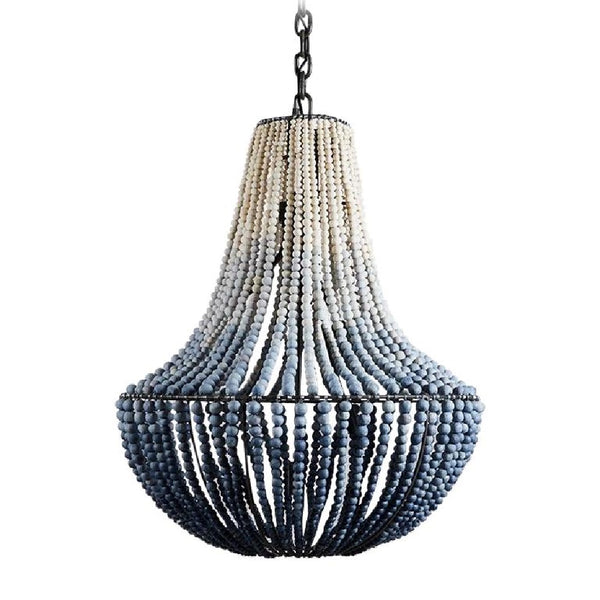 LIM Ink Ombre / Handmade Clay Beaded Chandelier