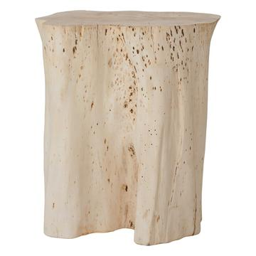 MALANI SIDE TABLE + STOOL | NATURAL