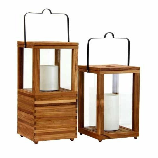 BEDARRA INDOOR-OUTDOOR LANTERN (2 SIZES)