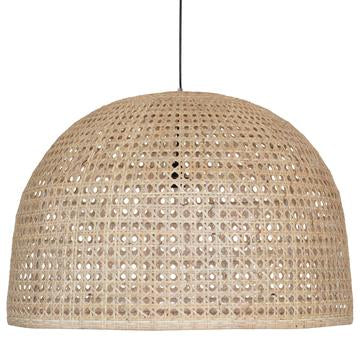 RITA WIDE PENDANT LIGHT / NATURAL