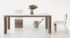 Pole Dining Table + Desk | Natural