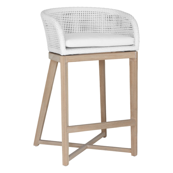 TULA BARCHAIR | WHITE (INDOOR-OUTDOORS)