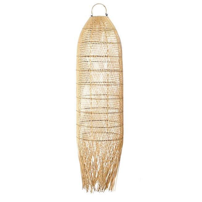 SQUID PENDANT SHADE / NATURAL