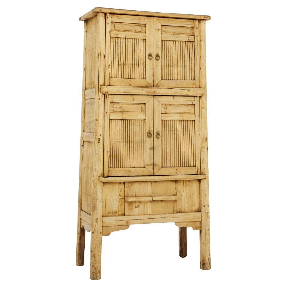 BAMBOO TALL CABINET / BLONDE