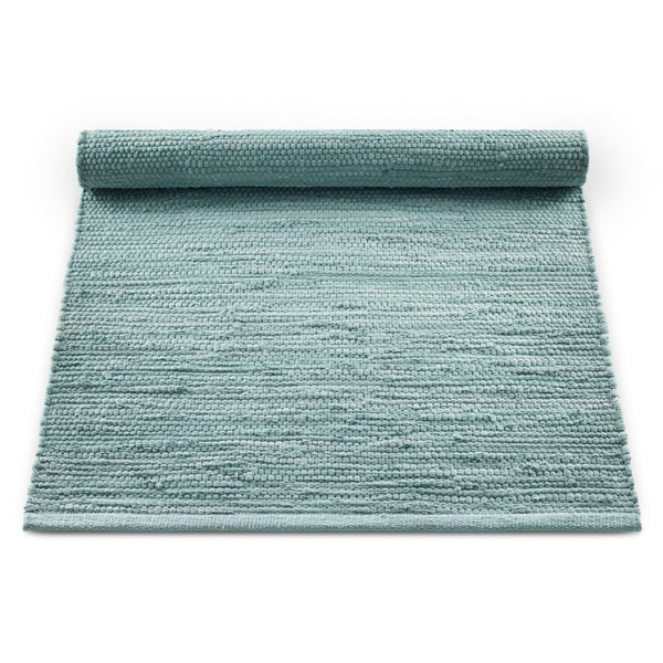 Cotton Remnant Rug | Dusty Jade