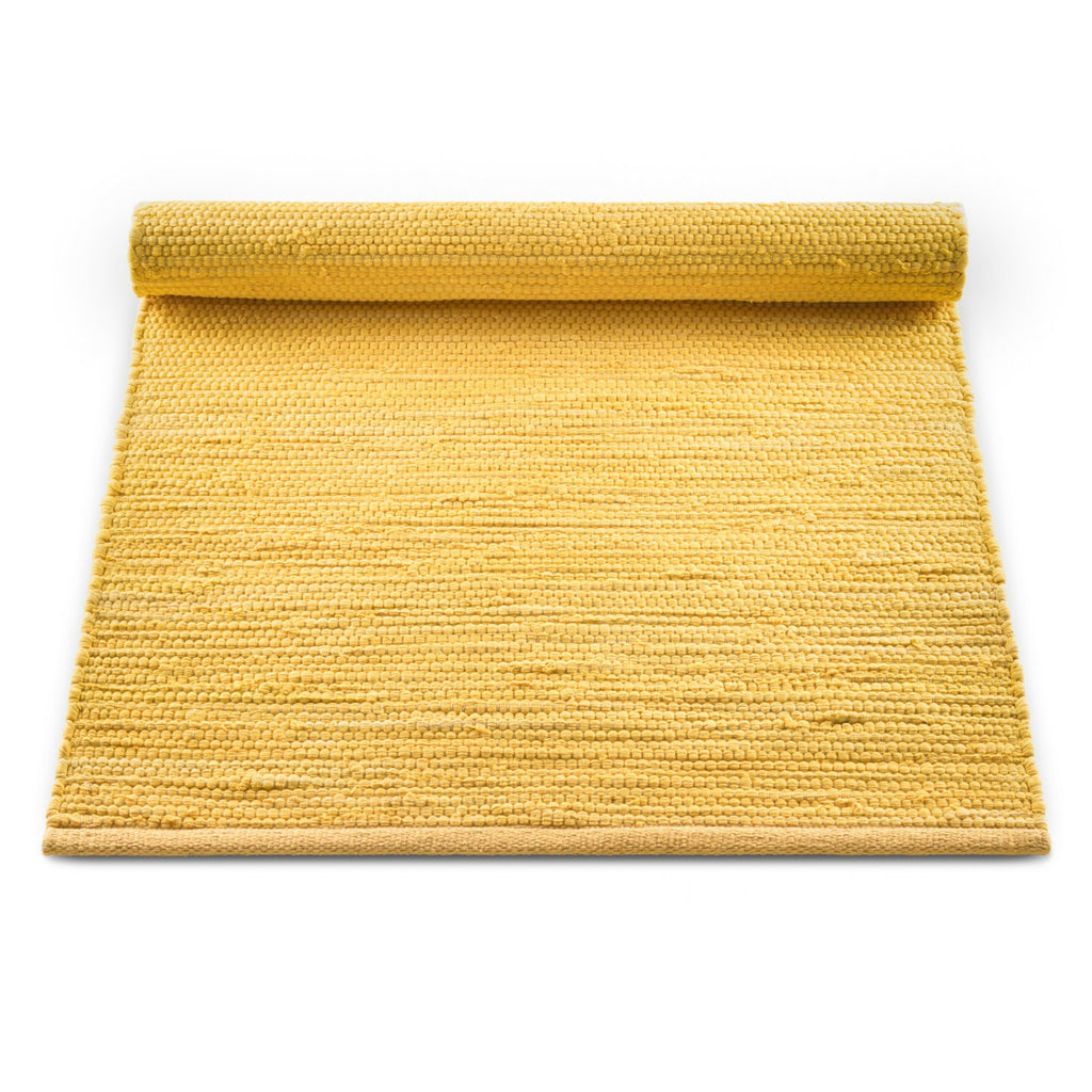 Cotton Remnant Rug | Raincoat Yellow