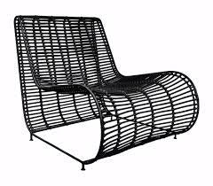 CUBA OCCASIONAL CHAIR | BLACK | INDOOR-OUTDOOR