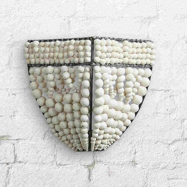 Clay Beaded Sconce / Various Colors