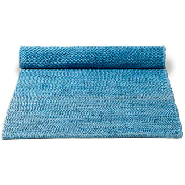 Cotton Remnant Rug | Eternity Blue
