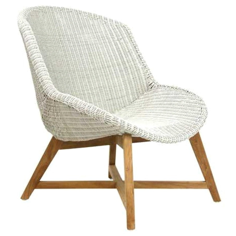 SKAL LOUNGE CHAIR / ICE WHITE (INDOOR-OUTDOOR)