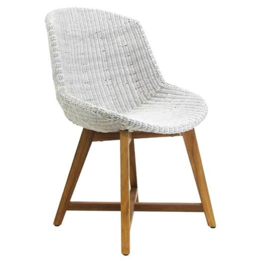 SKAL DINING CHAIR / ICE WHITE (INDOOR-OUTDOOR)