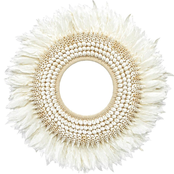 HAINAN FEATHER HOOP / LARGE