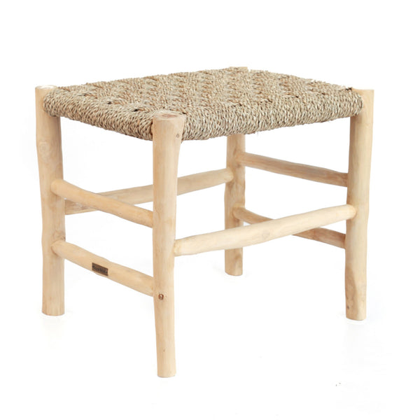 SOUK SEAGRASS STOOL / NATURAL