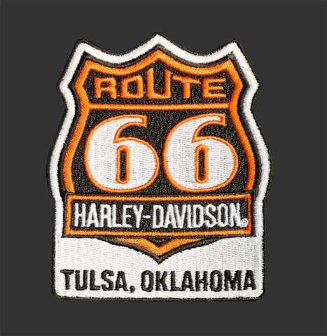 Route 66 Harley-Davidson® Patch