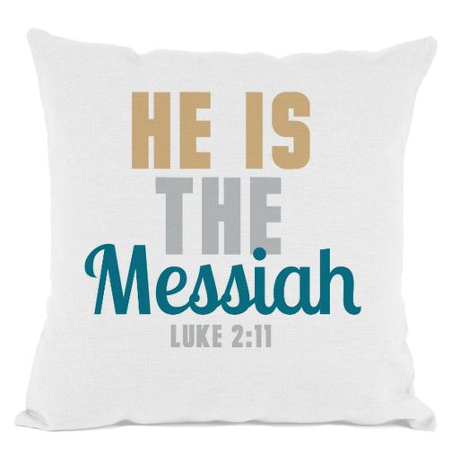 He is the Messiah Throw Pillow