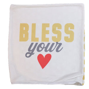 Bless Your Heart Throw Pillow Cover ONLY