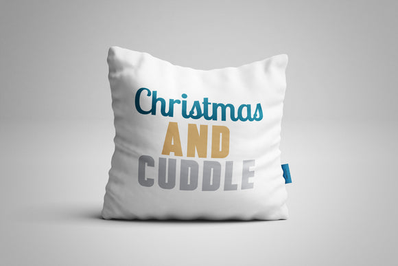 Fun, Festive Christmas and Cuddle Christmas Throw Pillow