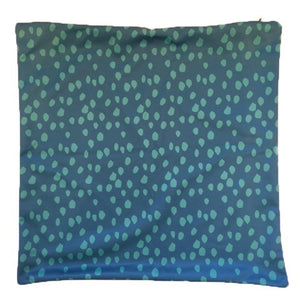 Unique Green Animal Print Throw Pillow