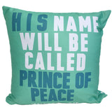 Green Christmas Throw Pillow