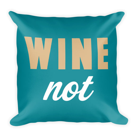 W.N. Fall Throw Pillow